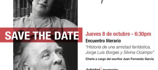 Jueves, 8 de octubre. Encuentro Literario:
